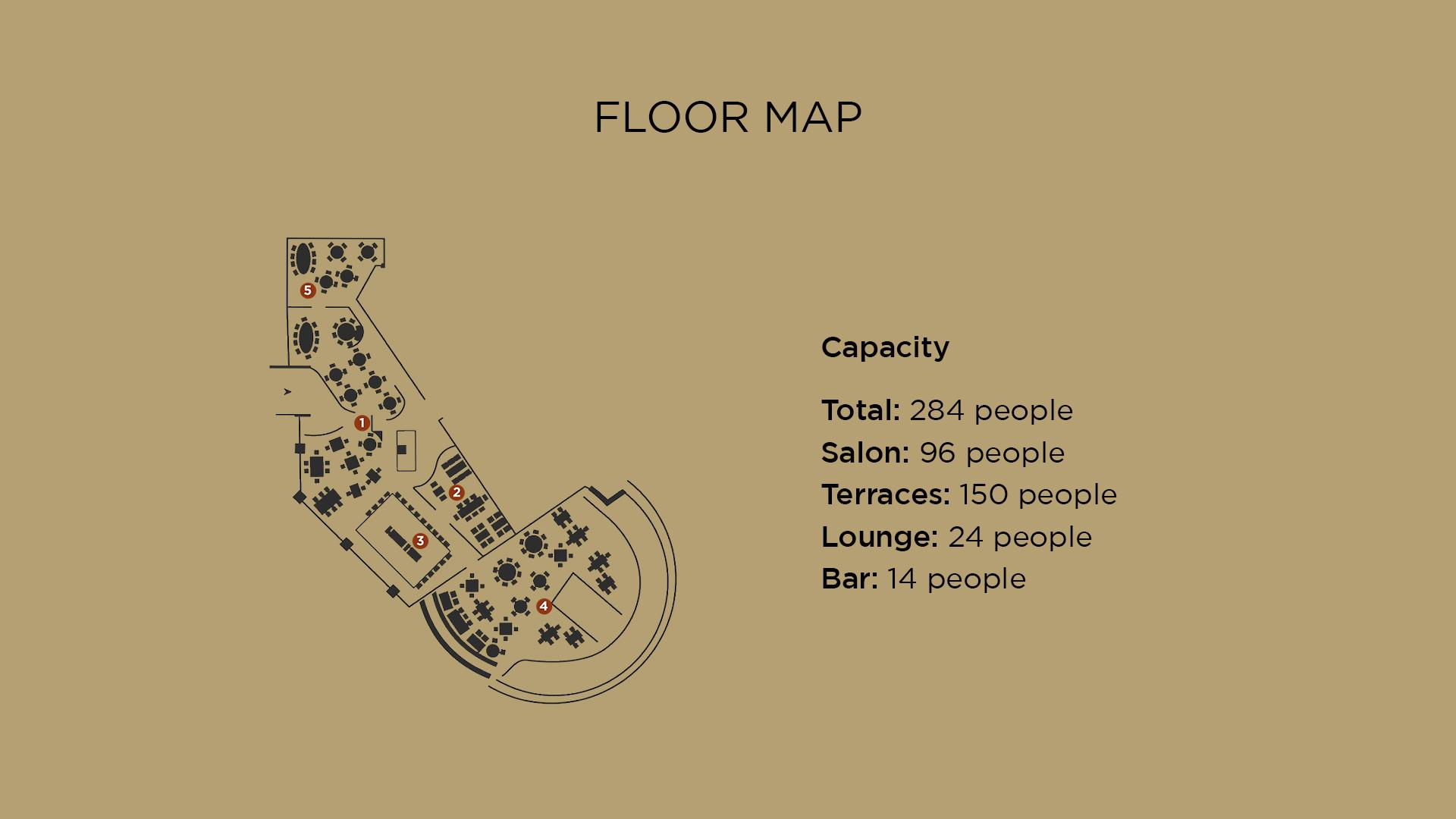 Acapulco Floor Map