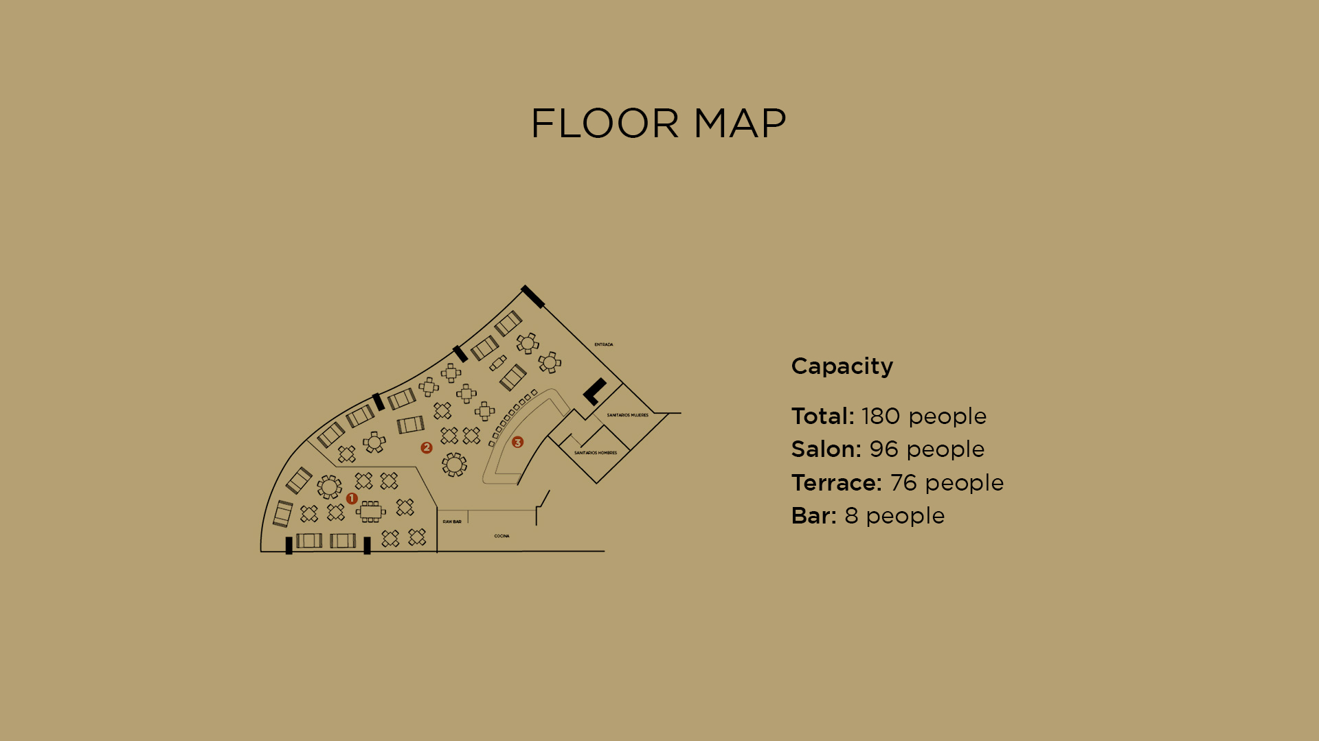 Floor Map Playa Del Carmen