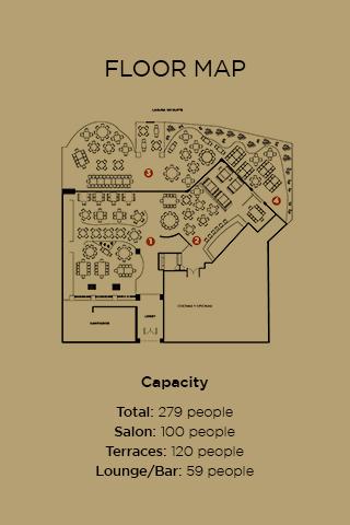 Harrys Cancun Floor Map