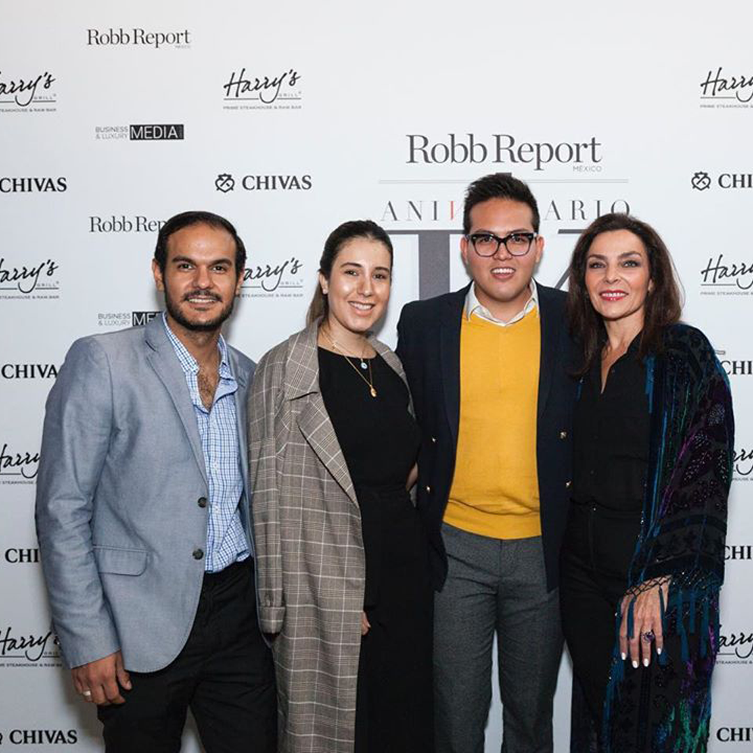 Invitados aniversario Robb Report CDMX