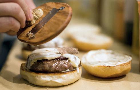 hamburguesas del oro blanco