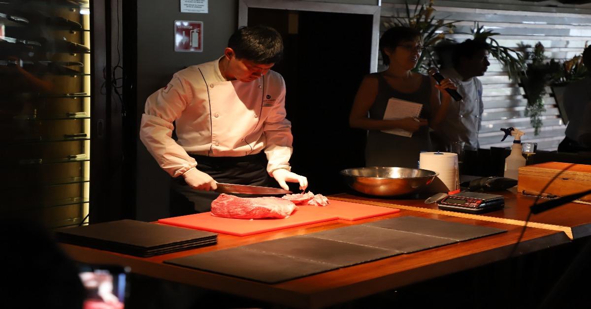 Seminario en Harry's Kobe Beef