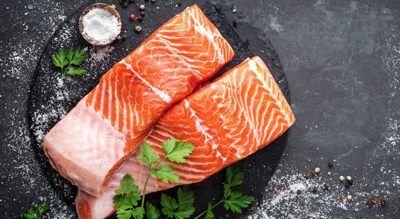 Salmon Salvaje en Harry's