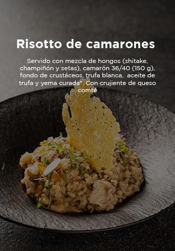 Harrys Risotto De Camarones