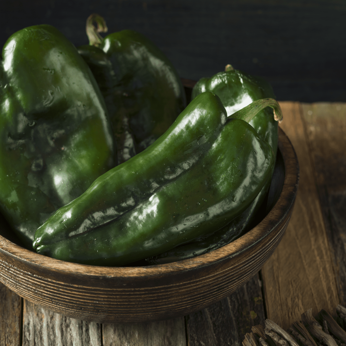 Chile poblano, el ingrediente principal del chile en nogada